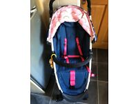 Cosatto yo2 stroller, unicorn edition