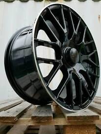 "BRAND NEW 18"" MERCEDES C63 AMG BLACK EDITION 5X112 C220 C200 C350 COUPE VITO VAN"