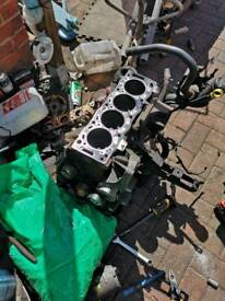 Ford Mondeo 2.0 qxba bottom part engine