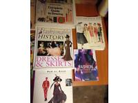 Fashion anddressmaking books