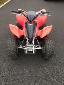Honda 90 quad sporttrax unwanted gift only been used a few times like brand new £1650