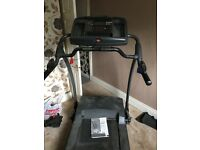 Full size gym treadmill needs new belt bit dusty . FREE but needs 2 STRONG men to collect !!!