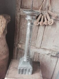 Antique old church candlestick