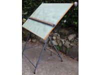 Vintage Retro Architect's Draughtsman Artist Drawing Board
