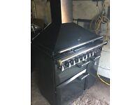 Rangemaster elan 90 `Dual fuel cooker with Hood