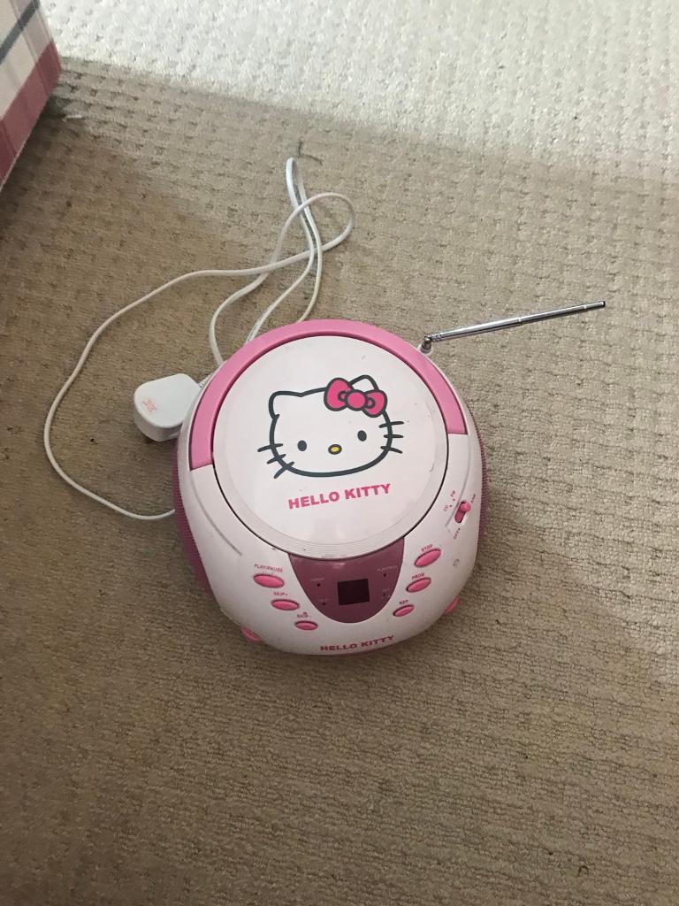 Hello kitty radio / CD player
