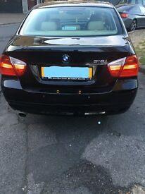 BMW 318 i 2007 BLACK FOR SALE