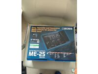 Boss ME 25 Guitar Multiple Effects Pedals
