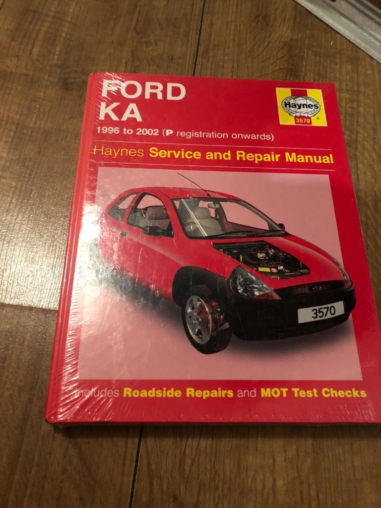 Haynes manual ford ka 96-02 new