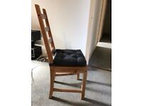 Chair for dining table (x6) - Ikea Kaustby - Less than 2 years old