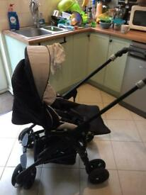 Jane solo reverse pushchair (includes free matrix light carry cot)