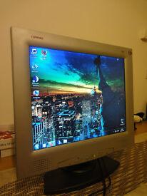 """HP / Compaq TFT7020 17"""" LCD Monitor"""