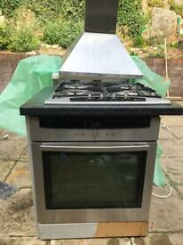 Neff Electric Cooker, Gas Hob and Electric Hood