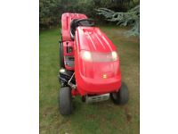 """Countax c300h ride on lawnmower 36"""" cut recent new deck and sweeper ex cond"""