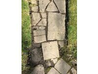 York stone paving/crazy paving
