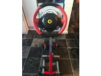 Xbox one thrustmaster , Wheel stand , pedals 3 months old