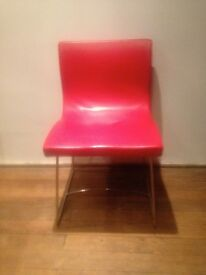 6 Retro style dining chairs