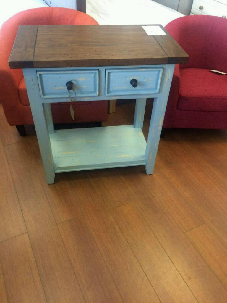 Brand new! Reclaimed hand painted 2 drawer sideboard was £299 now £159 bargain!