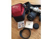 Pentax MZ 50 SLR Camera + Accessories