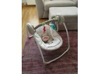 Cosy Kingdom baby swing