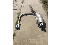 Bmw 325i m3 style exhaust system £45