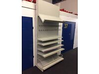 *BARGAIN*STAPLES SHOP SHELVING WITH ALL SHELVING, LIGHTS AND FIXTURES. ***BARGAIN***MUST GO***