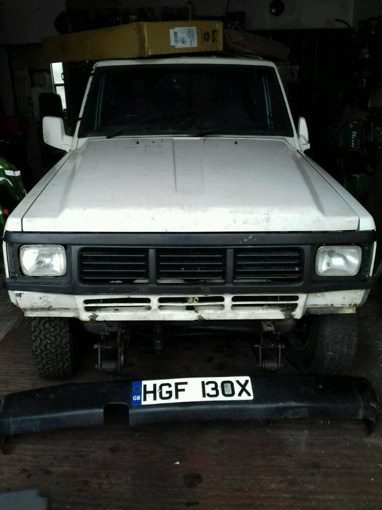 Barn find nissan patrol diesel 4x4 1986