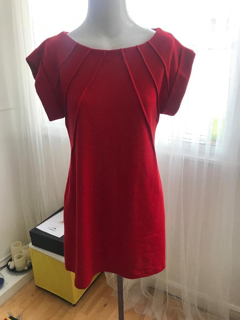 Dorothy Perkins red dress uk 10