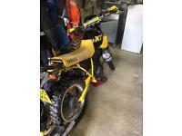 Yamaha XT350 enduro motocross
