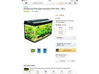 Interpet fishpod 120 litre aquarium fish tank