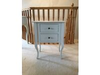 2 x Laura Ashley Rosalind Ivory Side Tables