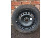 Vauxhall Spare wheel tyre 205/55R16