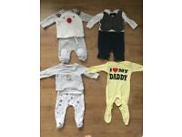 Bundle Baby boy clothes 0-4 months