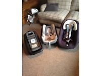Maxi Cosi Cabriofix/Pearl and Family Fix Base Package