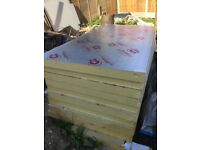 Selling 9 sheets of 100mm celotex insulation