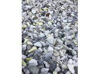 20 mm Grampian marble garden and driveway chips/ stones/ gravel