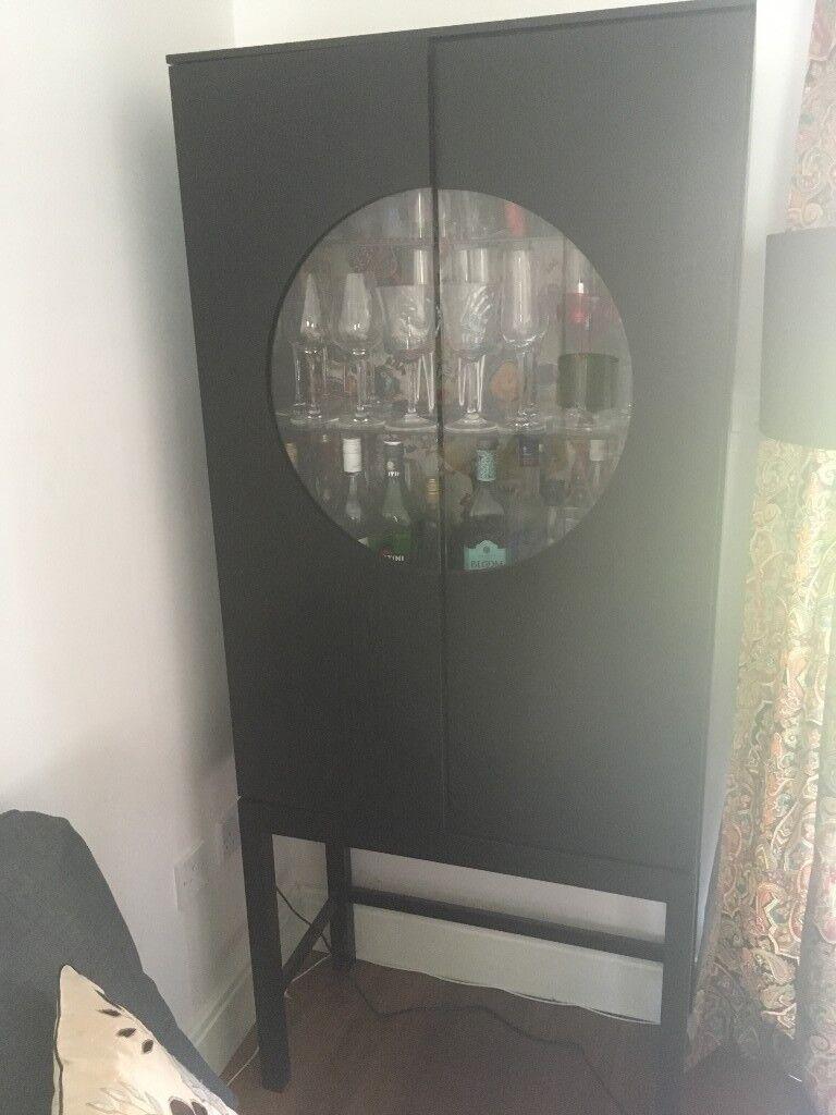 Black ikea stockholm glass door cabinet in milton keynes black ikea stockholm glass door cabinet planetlyrics Choice Image