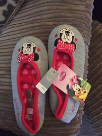 Children's Disney Micky mouse slippers