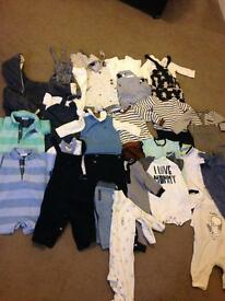 Baby boys big bundle of 3-6m clothes