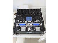 DJ Mixer, Controller, CD/DVD Player, Media Player, Pro Sound Card and Flight Case
