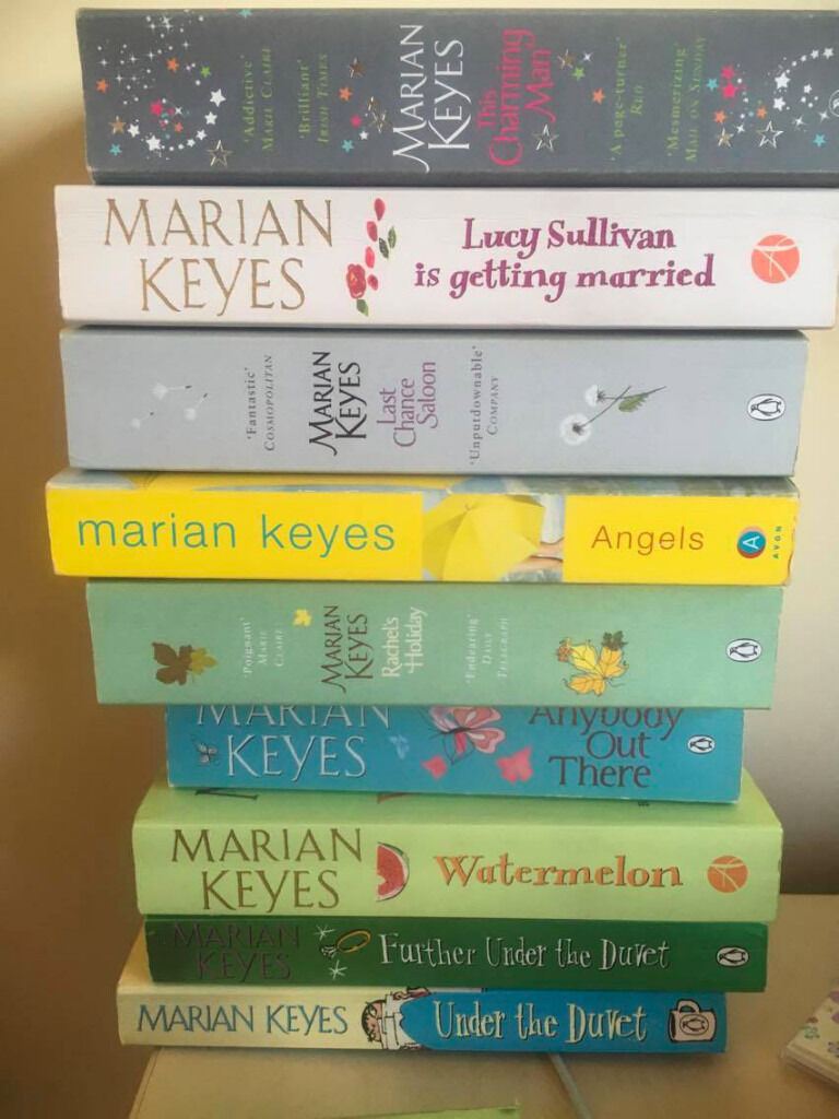 A collection of Marian Keyes books