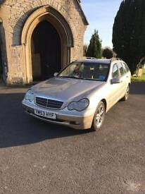 Much loved Mercedes C270 diesel auto Estate 2004 MOT to Oct 2018