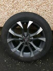 Vauxhall Alloys 4XWolfrace Eurosport Assassin 18inch with tyres