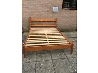 Double Bed Pine frame