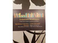 Ashmina's Academics