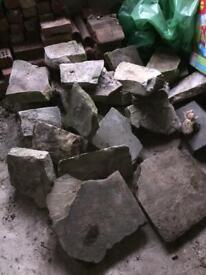 Yorkstone paving slabs various sizes £30
