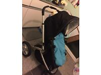 Mothercare my4 pushchair+car seat+base