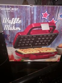 Silver crest waffle maker
