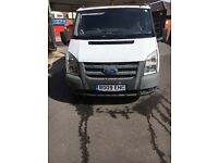 Ford transit 09 Swb 85 t260 for spares and repair.
