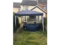 Lazy spa St Topez with gazebo excellent condition